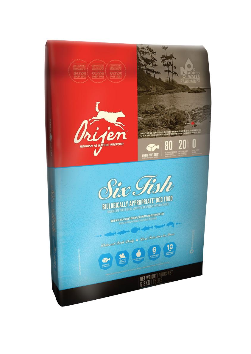 ORIJEN 6 Fisch Dog 13kg + DOPRAVA ZDARMA + Dental Snacks ZDARMA! (+ 2% SLEVA PO REGISTRACI / PŘIHLÁŠENÍ!)