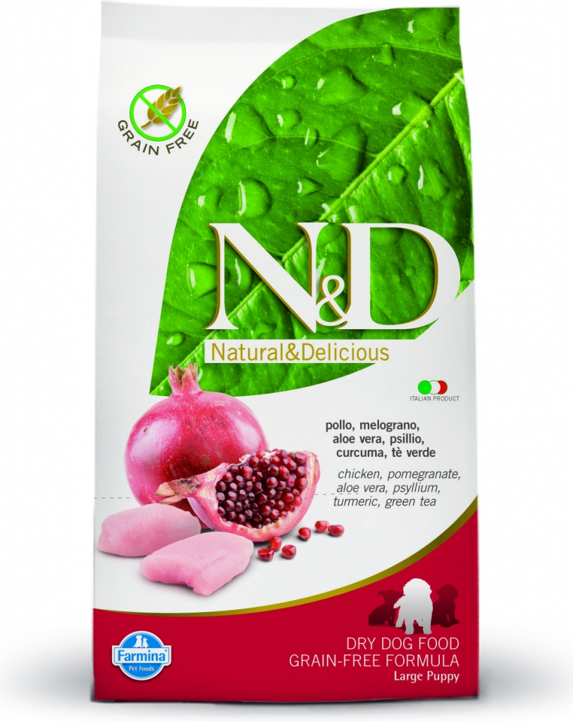 N&D Grain Free Chicken & Pomegranate Large Breed Puppy 12 kg