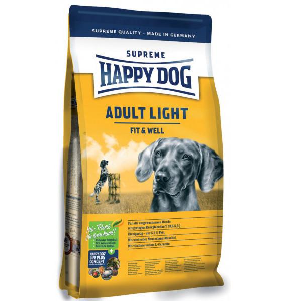 HAPPY DOG SUPREME Fit & Well ADULT Light 12,5kg + DOPRAVA ZDARMA+Snacks! (+ SLEVA PO REGISTRACI/PŘIHLÁŠENÍ! ;))