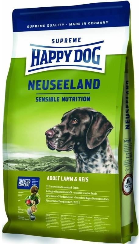 HAPPY DOG SUPREME Neuseeland Lamb&Rice 12.5kg + DOPRAVA ZDARMA+Dental Snacks! (+ SLEVA PO REGISTRACI/PŘIHLÁŠENÍ! ;))