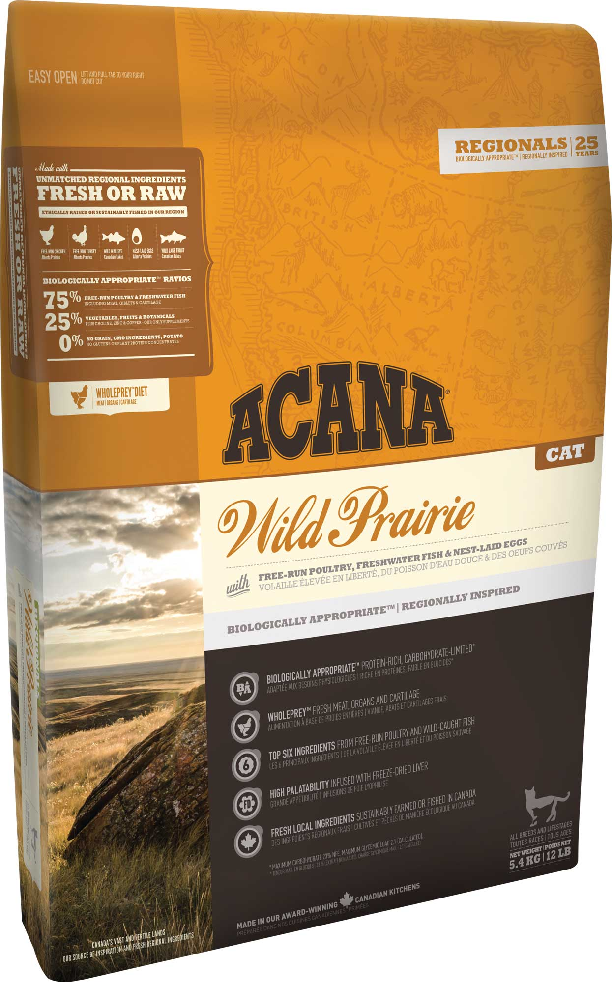 ACANA Wild Prairie Cat & Kitten 5.4 kg