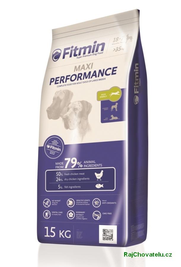 Fitmin dog maxi performance 3x15kg + 3x Fitmin SNAX + DOPRAVA ZDARMA! (+ SLEVA PO REGISTRACI / PŘIHLÁŠENÍ!)