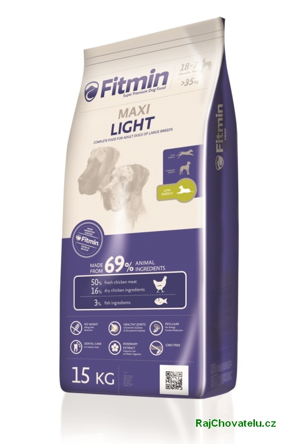 Fitmin Dog Maxi Light 2 x 15 kg new