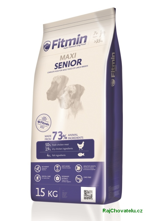 Fitmin Dog Maxi Senior 3 x 15 kg new