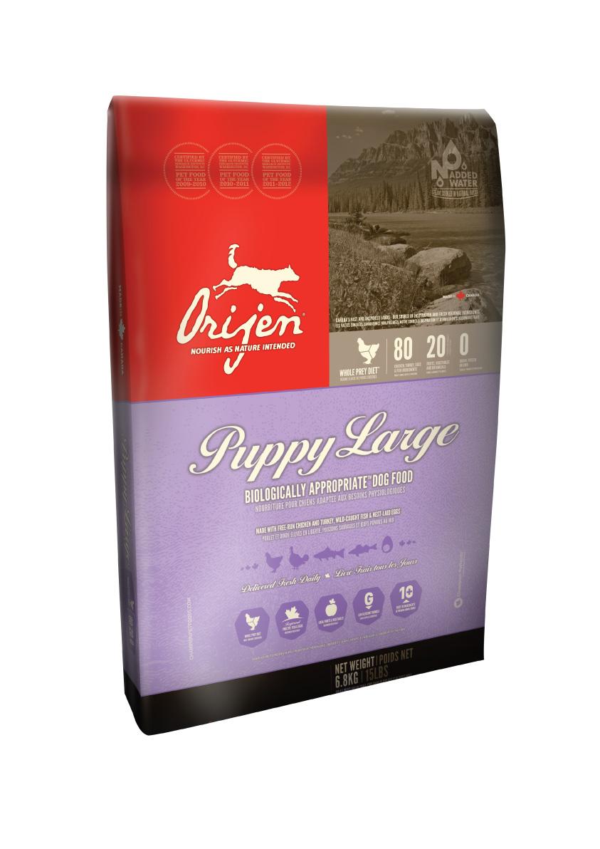ORIJEN Dog Puppy Large 6,8kg + DOPRAVA ZDARMA + Dental Snacks ZDARMA! (+ SLEVA PO REGISTRACI / PŘIHLÁŠENÍ!)