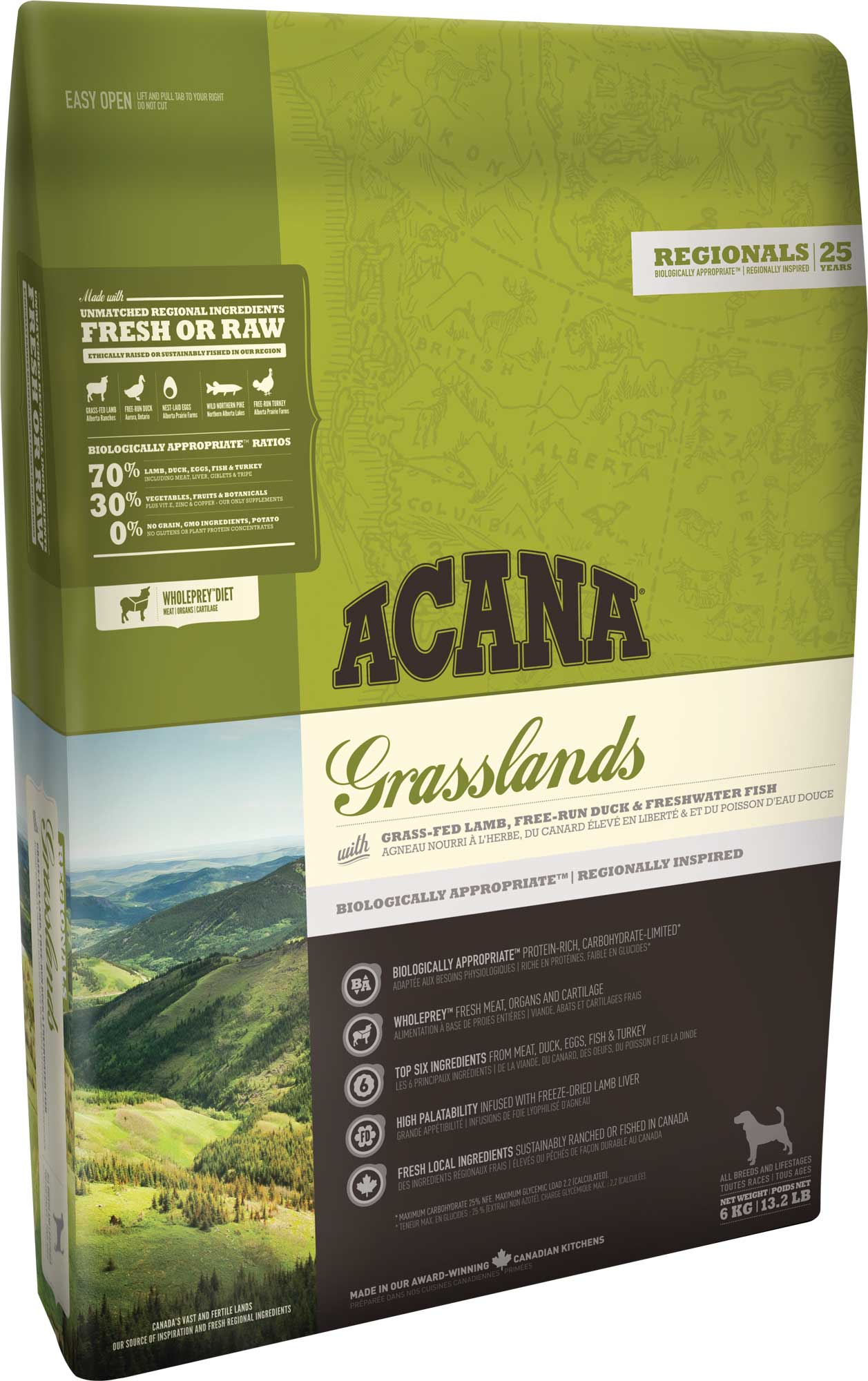 Acana Dog Grasslands 2x11,4 kg
