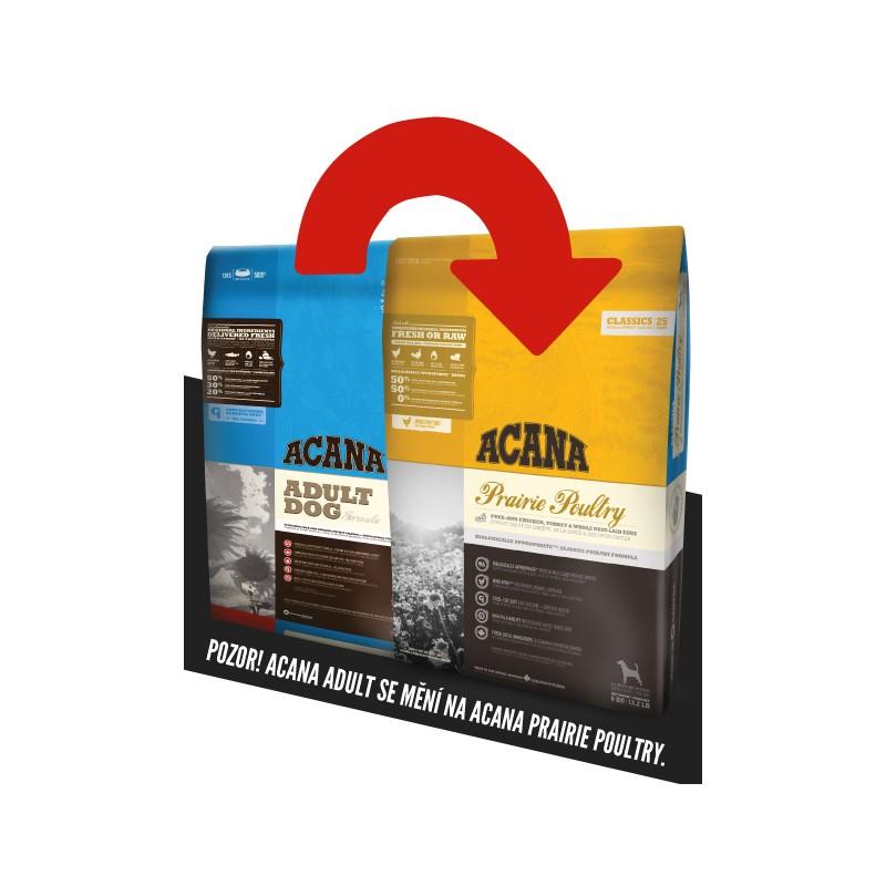 Acana Adult 2x18kg + DOPRAVA ZDARMA + Dental Snacks ZDARMA!