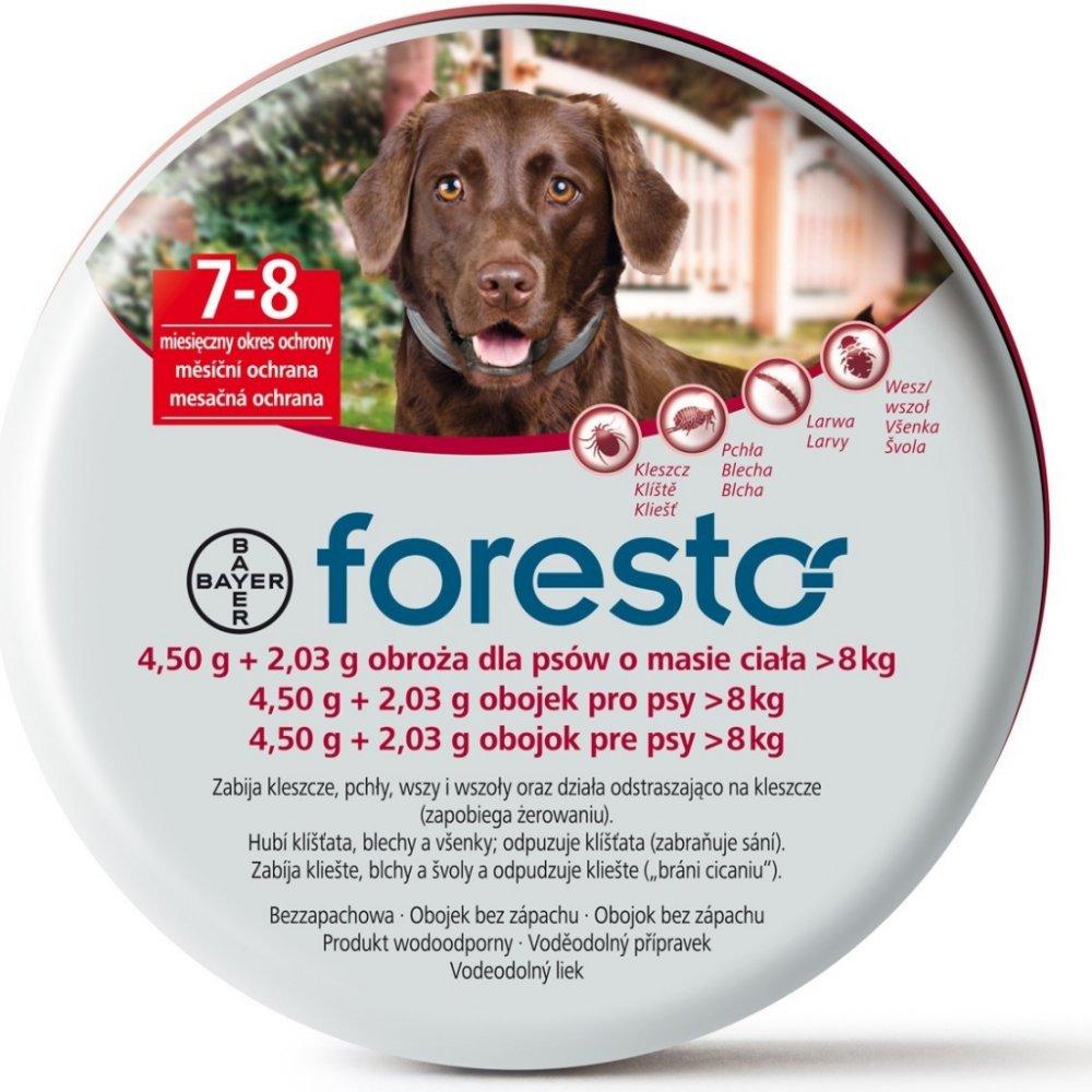 Bayer Foresto 70cm - antiparazitní obojek pro psy nad 8kg