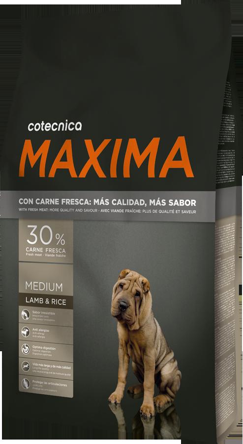 Maxima Medium Lamb & Rice 14kg + DOPRAVA ZDARMA + Dental Snacks ZDARMA! (+ 2% SLEVA PO REGISTRACI )