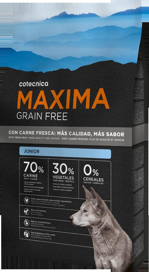 Maxima Grain Free Junior 14kg + DOPRAVA ZDARMA + Dental Snacks ZDARMA! (+ 2% SLEVA PO REGISTRACI )