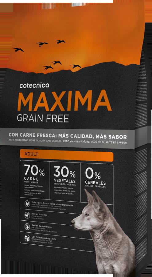 Maxima Grain Free Adult 14kg + DOPRAVA ZDARMA + Dental Snacks ZDARMA! (+ 2% SLEVA PO REGISTRACI )