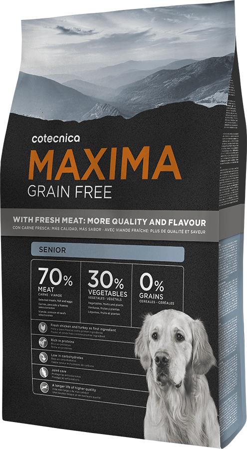Maxima Grain Free Senior 14kg+ DOPRAVA ZDARMA + Dental Snacks ZDARMA! (+ 2% SLEVA PO REGISTRACI )