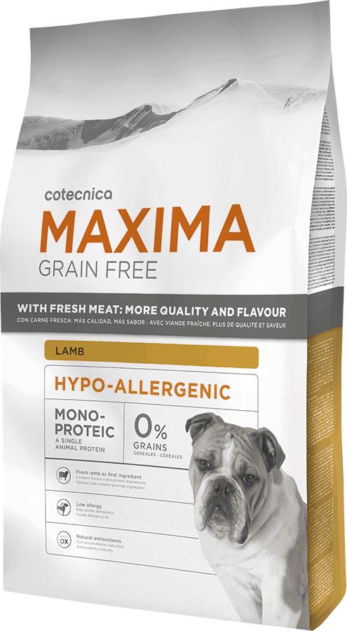 Maxima Grain Free Hypo-Allergenic Lamb 14kg+DOPRAVA ZDARMA+Dental Snacks ZDARMA! (+ 2% SLEVA PO REGISTRACI )