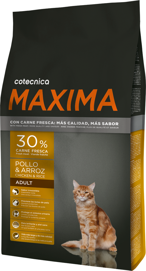 Maxima CAT Chicken & Rice 1,5kg (+ 2% SLEVA PO REGISTRACI )