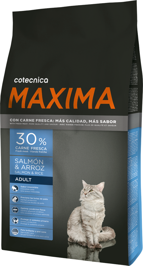 Maxima CAT Salmon & Rice 1,5kg (+ 2% SLEVA PO REGISTRACI )
