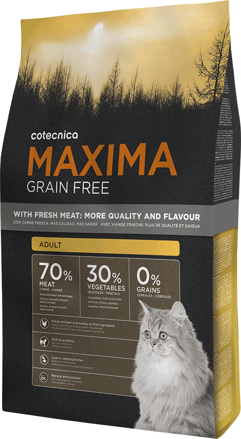 Maxima CAT Grain Free Adult 3kg (+ 2% SLEVA PO REGISTRACI )