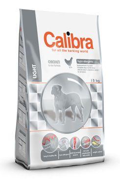 Calibra Dog Light 15KG + DOPRAVA ZDARMA + DENTAL SNACKS! (+ 2% SLEVA PO REGISTRACI / PŘIHLÁŠENÍ!)