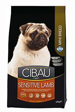 CIBAU Dog Adult Sensitive Lamb & Rice Mini 2,5KG (+ 2% SLEVA PO REGISTRACI / PŘIHLÁŠENÍ!)