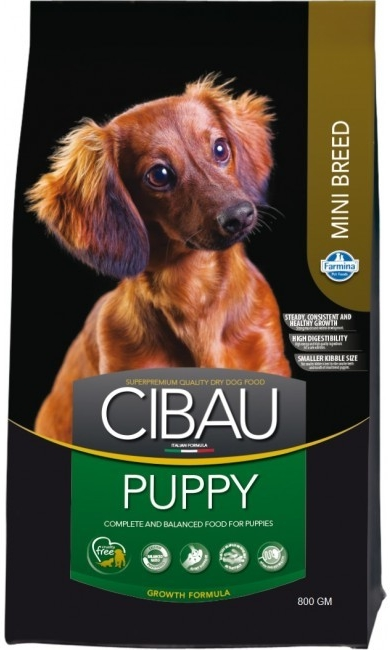 CIBAU Dog Puppy Mini 800G (+ 2% SLEVA PO REGISTRACI / PŘIHLÁŠENÍ!)