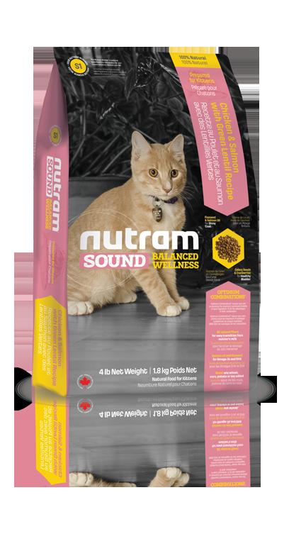 S1 Nutram Sound Kitten 1,8kg (+ 2% SLEVA PO REGISTRACI / PŘIHLÁŠENÍ!)