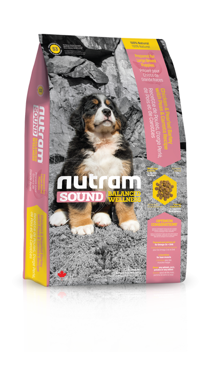 S3 Nutram Sound Large Breed Puppy 13,6kg+DOPRAVA ZDARMA+Candies+Nutram dárek! (+ 2% SLEVA PO REGISTRACI / PŘIHLÁŠENÍ!)