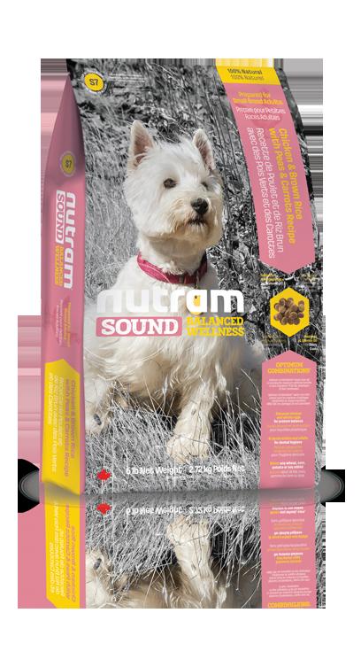 S7 Nutram Sound Small Breed Adult Dog 2,72kg (+ 2% SLEVA PO REGISTRACI / PŘIHLÁŠENÍ!)
