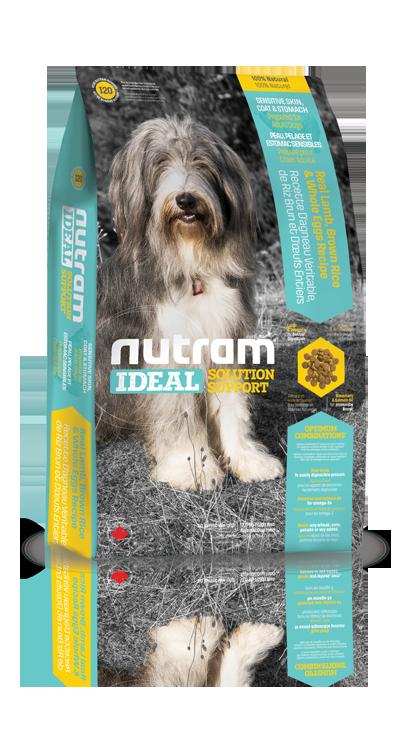 I20 Nutram Ideal Sensitive Dog 13,6kg+DOPRAVA ZDARMA+Candies+Nutram dárek! (+ 2% SLEVA PO REGISTRACI / PŘIHLÁŠENÍ!)