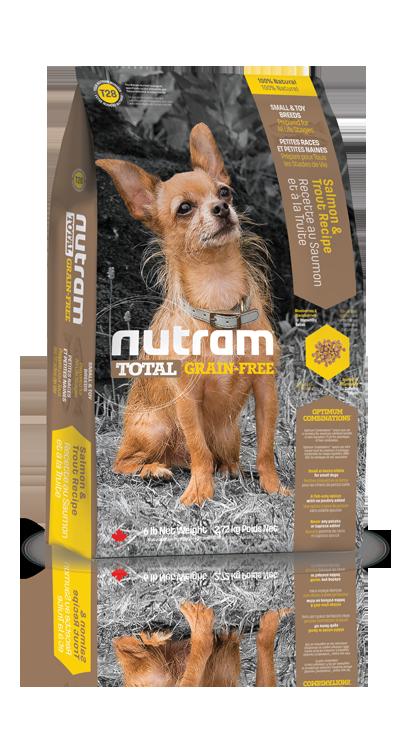 T28 Nutram Total Grain Free Small Breed Salmon Trout Dog 2,72kg (+ 2% SLEVA PO REGISTRACI / PŘIHLÁŠENÍ!)