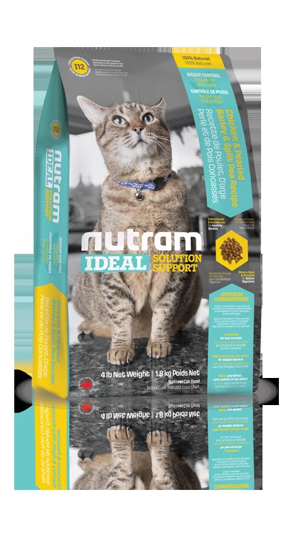 I12 Nutram Ideal Weight Control Cat 1,8kg (+ 2% SLEVA PO REGISTRACI / PŘIHLÁŠENÍ!)