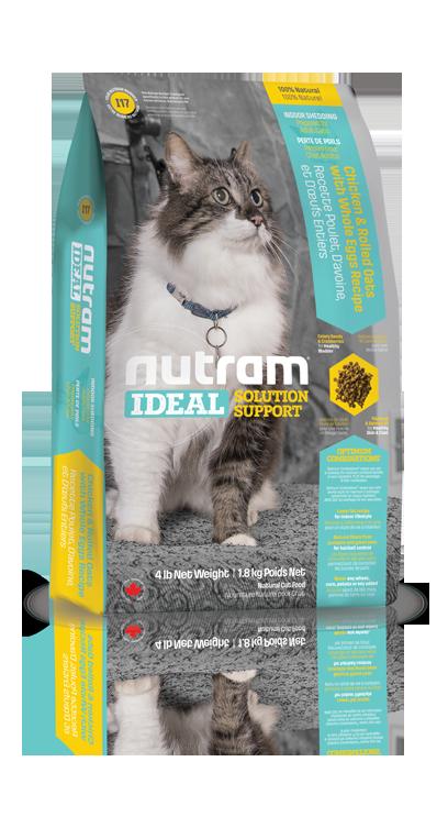 I17 Nutram Ideal Indoor Cat 6,8kg+DOPRAVA ZDARMA! (+ 2% SLEVA PO REGISTRACI / PŘIHLÁŠENÍ!)
