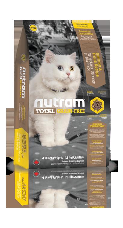 T24 Nutram Total Grain Free Salmon, Trout Cat 6,8kg+DOPRAVA ZDARMA! (+ 2% SLEVA PO REGISTRACI / PŘIHLÁŠENÍ!)