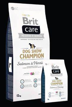 Brit Care Dog Show Champion 12kg+DOPRAVA ZDARMA+SNACKS! (+ 2% SLEVA PO REGISTRACI / PŘIHLÁŠENÍ!)