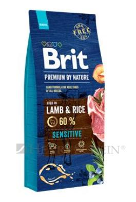 Brit Premium Dog by Nature Sensitive Lamb 15kg + DOPRAVA ZDARMA!