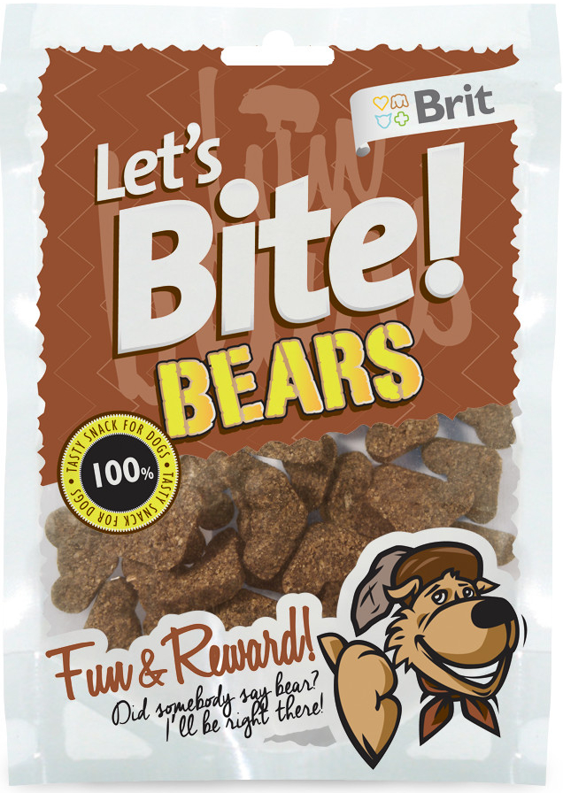 Brit Let´s Bite Bears 150 g