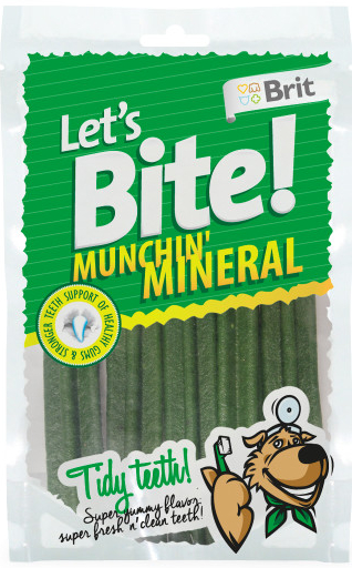 Brit Let´s Bite Munchin' Mineral 105 g