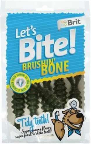 Brit Let´s Bite Brushin' Bone 90 g