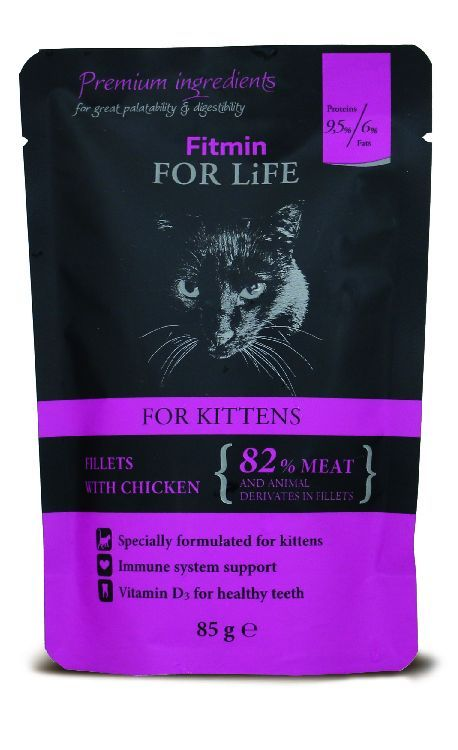 Fitmin for Life Cat kotě 85g kapsička