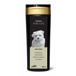 Šampon Fitmin For Life White dogs 300ml