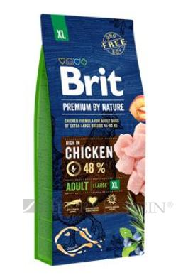 Brit Premium Dog by Nature Adult XL 15kg + DOPRAVA ZDARMA!!!
