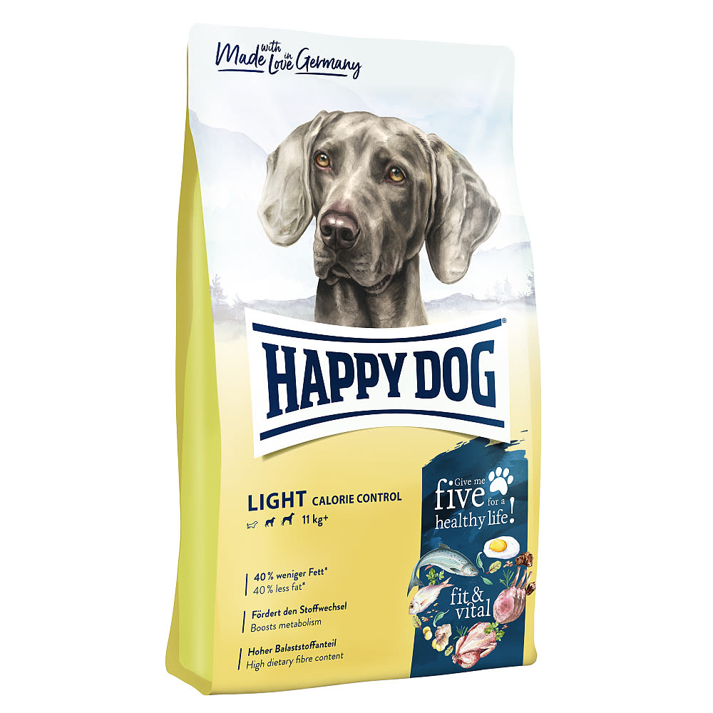 Happy Dog Supreme Light Calorie Control 12kg + DOPRAVA ZDARMA+1x masíčka Perrito!