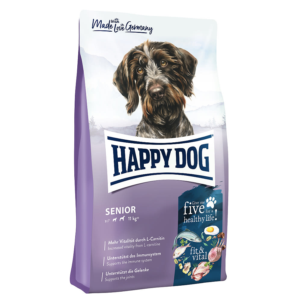 Happy Dog Supreme Fit & Vital Senior 12kg + DOPRAVA ZDARMA+1x masíčka Perrito!