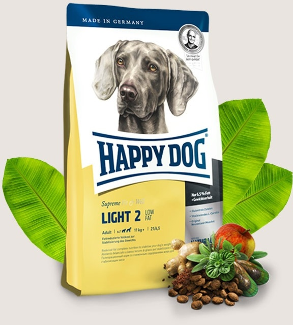 Happy Dog Supreme Fit & Well Adult Light 3x12,5kg+DOPRAVA ZDARMA+Snacks!