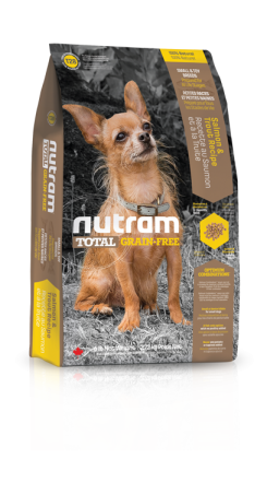 T28 Nutram Total Grain Free Small Breed Salmon Trout Dog 2,72kg