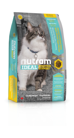 I17 Nutram Ideal Indoor Cat 6,8kg+DOPRAVA ZDARMA!