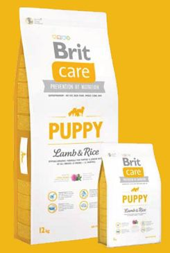 Brit Care Dog Puppy Lamb & Rice 12kg+DOPRAVA ZDARMA+SNACKS!
