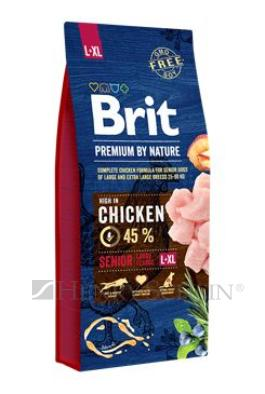Brit Premium Dog by Nature Senior L+XL 15 kg + DOPRAVA ZDARMA!!!